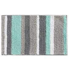 teal blue and grey bathroom rugs