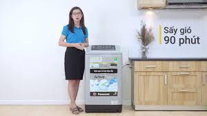 Máy giặt Panasonic 9 kg NA F90A4GRV Mạnh mẽ trong từng chi tiết Điện máy  XANH - YouTube