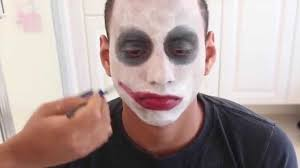 how to do joker makeup step by step