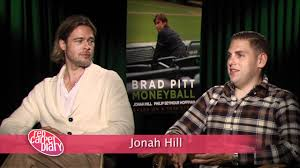 Brad Pitt and Jonah Hill of Moneyball ...