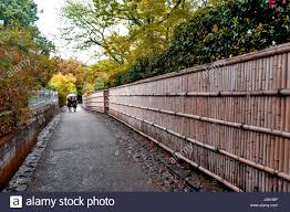 Bamboo Fence Rural High Resolution Stock Photography And Images Alamy