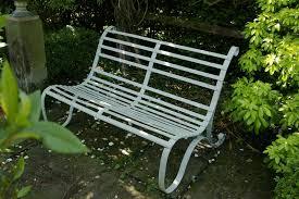 wrought iron garden bench mongers