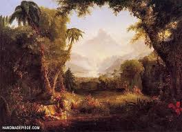 eden by thomas cole reproduction