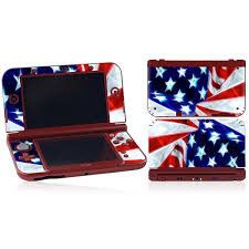 Dhappy Vinyl Decals Skins Stickers Cover For Nintendo New 3ds Xl Ll Flag Wish