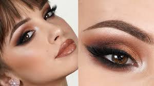 glam makeup tutorial bold smokey eye