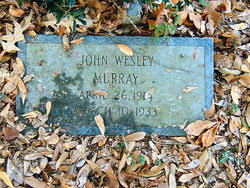 John Wesley Murray (1914-1933) - Find A Grave Memorial