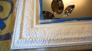 diy chalk paint mirror update you