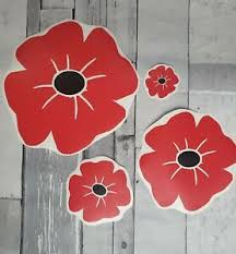 Lest We Forget Remembrance Day Rememberance Window Vinyl Sticker Decal Poppy Car Ebay