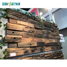 decorative timber wood fence panel