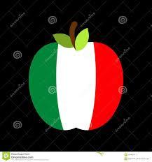 Bandiera Di Apple Italia Frutta Nazionale Italiana Illustrazione Di Vettore  Illustrazione Vettoriale - Illustrazione di foglio, arte: 104435411
