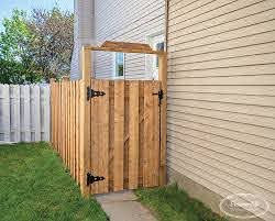 Orleans Gate Wood Gates Products Fence All Ottawa