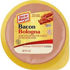 oscar mayer bacon bologna cold cuts 14