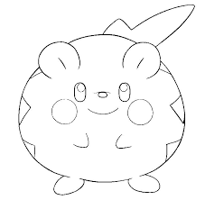 Pokemon Coloring Pages Togedemaru