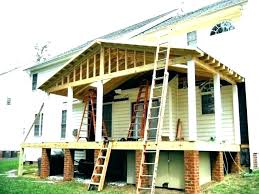 gable porch roof patio cover framing