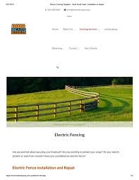 Electric Fence Installation And Repair By Bearsfencing30 Issuu