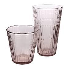 a by amara barroc glass tumblers