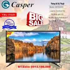 Android Tivi Casper 32 inch 32HG5000 - Hàng chính hãng giá rẻ 3.368.000₫