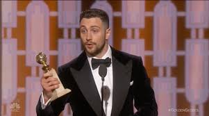 Golden Globes 2017: Aaron Taylor-Johnson Wins Best Supporting ...