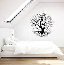 Vinyl Wall Decal Tree Branches Gothic Style Nature Decoration Stickers 3804ig Ebay