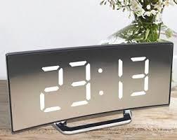 Digital Alarm Clock Etsy