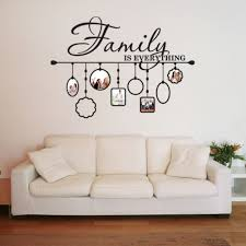 Shop Family Picture Frame Deco Vinyl Wall Art On Sale Overstock 10391280