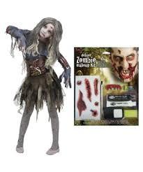 gore zombie costume kit s