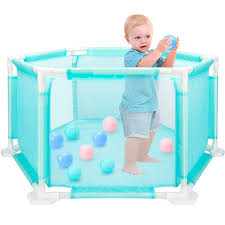 Buy Indoor Climber Hexagon Children Game Playpen Fence Baby Toys Safe Crawling Toddler Toy At Jolly Chic