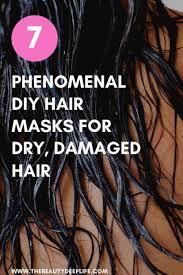diy hair masks for dry damaged hair