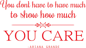 Ariana Grande Vinyl Sticker Quote Inspirational Singer Wall Decal 20 X12 Walmart Com Walmart Com