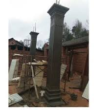 Precast Decorative Concrete Square Roman Column Pillar Plastic Molds For Sale Wholesale Formwork Products On Tradees Com
