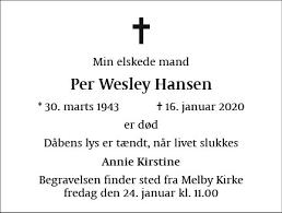Per Wesley Hansen