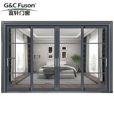 china g c fuson sliding glass door