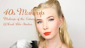 40s makeup makeup of the century
