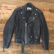 leather superstar motorcycle jacket