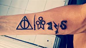 harry potter quote tattoos every hogwarts fan needs on their