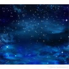 السماء الزرقاء بريق نجوم التصوير خلفية الفينيل أطفال الأطفال صور