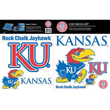 Skinit Kansas Jayhawks Car Decal Kit Walmart Com Walmart Com