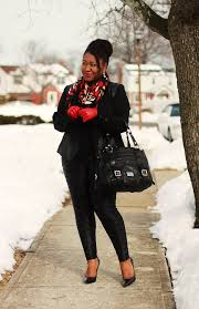 leather pants outfit for curvy women
