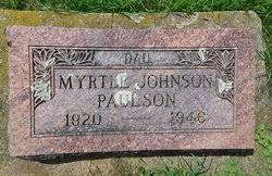 Myrtle Johnson Paulson (1920-1946) - Find A Grave Memorial