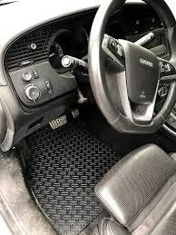 stateofnine custom fit saab floor mats