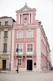 Pin by Adeline Phillips on Livin' | Pink houses, Poznan, Travel