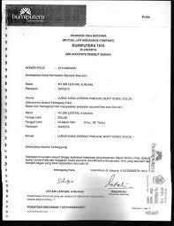 Dalam Asuransi Dikenal Adanya Surat Perjanjian Yang Disebut Sebutkan Mendetail