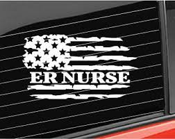 Nurse Flag Sticker Etsy