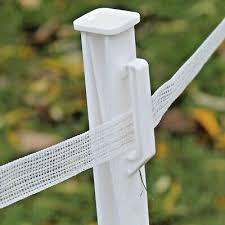 10 3 Polyrope And Polywire Electric Fence Posts Plastic Stakes Suitable For Polytape Fortis Electric Fencing