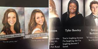 hilarious yearbook quotes best funny viral yearbook photos