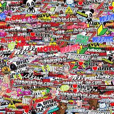 illest collage wallpaper sticker