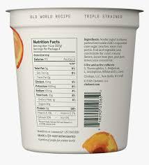 chobani plain greek yogurt nutrition