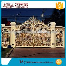 Yishujia Factory Luxurious Wrought Iron Gate Designs Modern Residential Gate Design Philippines View Luxury Wrought Iron Gate Yishujia Product Details From Shijiazhuang Yishu Metal Products Co Ltd On Alibaba Com