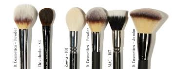 best mac makeup brushes for face