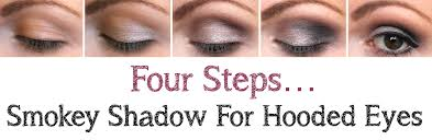 smokey shadow for hooded eyes